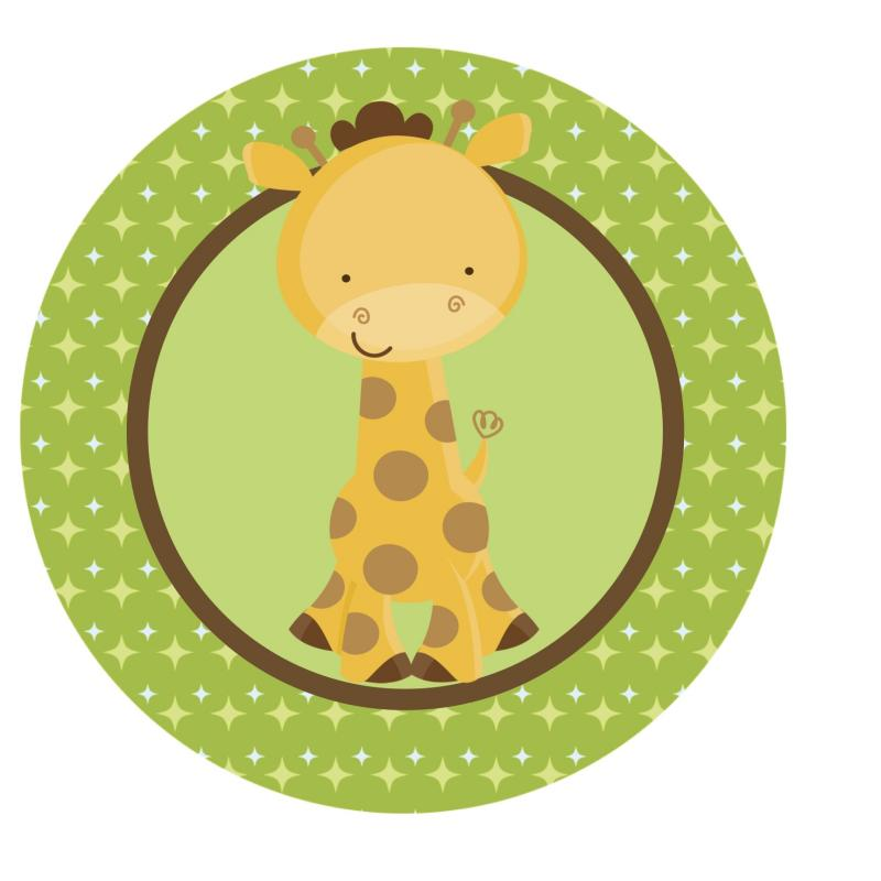 Safari Cake Toppers For Baby Shower