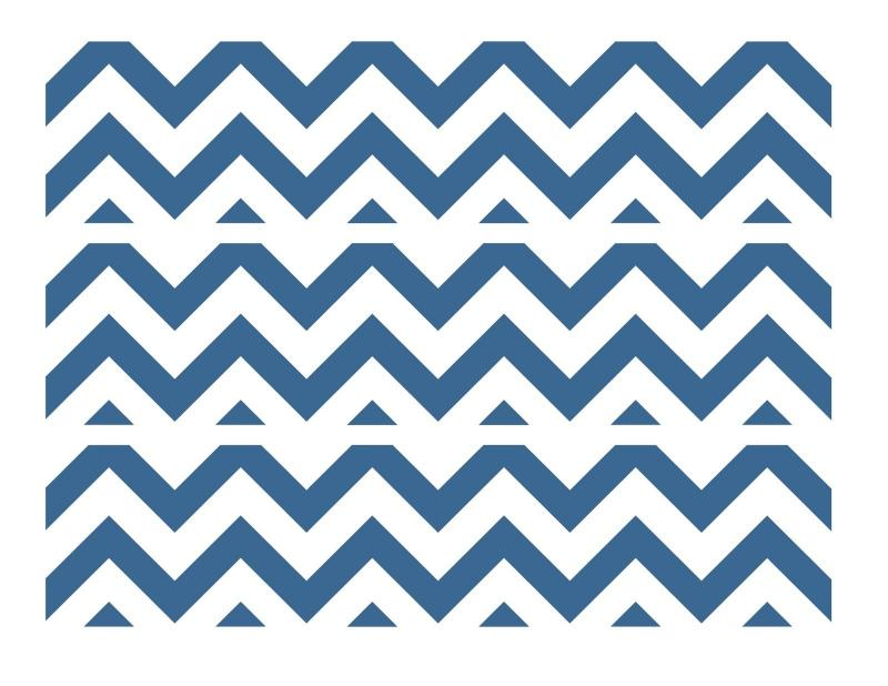 Navy Blue And White Chevron Background