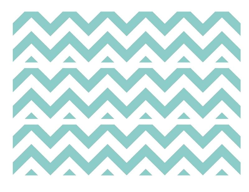chevron wallpaper border