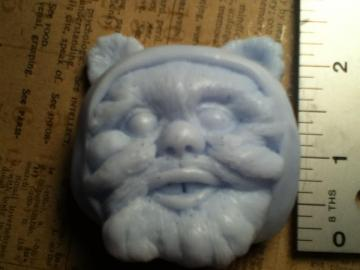 Blue Ewok Soap