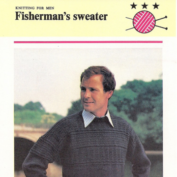 fisherman knit sweater on Etsy, a global handmade and vintage