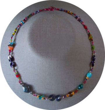Fiesta S Curve Necklace