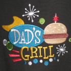 DAD&#039;S GRILL bibbed apron