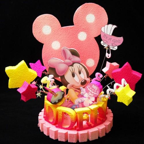 Minnie Mouse Baby Shower Cake Toppers 500 x 500