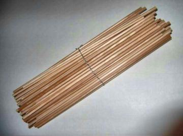 "100 Wooded Dowels 3/16"" by 12"" Long"