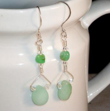 Lime Sherbet  Earrings