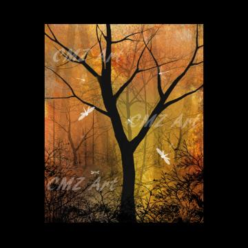 Almost At Peace - Tree Art Print