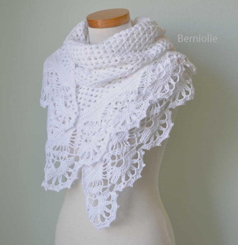 Eva s Shawl Free Crochet Pattern : #