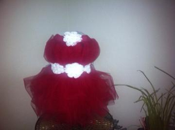 Little Mrs. Claus Tutu Dress