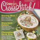 Crazy for Cross Stitch Magazine January 2003