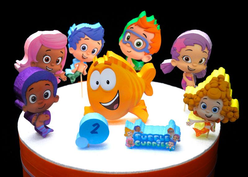 Pin Bubble Guppies Cake Gallery