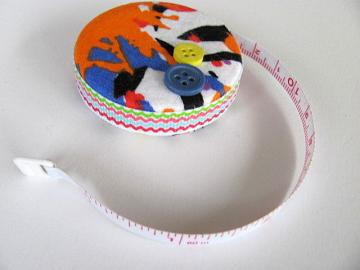 Splatter Print Fabric Tape Measure
