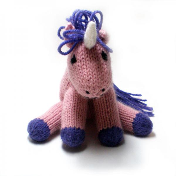 Knitting Pattern For Unicorn Toy : #