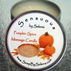 Pumpkin Spice Massage Candle