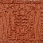 Knitting Cloth Pattern - FIREFIGHTER EMBLEM - PDF