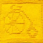 Knitting Cloth Pattern - BICYCLE - PDF