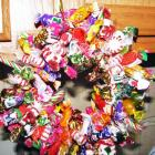 Great gift for Mother's or Father's Day -Candy Wreaths for the Birthdays, Anniversaries , the list goes on and on