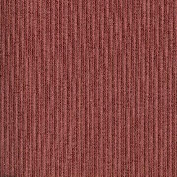 BRICK RED RIBBING, Cotton Lycra blend Fat 8th