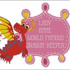 "<div align=""center""><h1><strong>""World Famous Dragon Keeper Customizable (Choose Pink or Blue)"" by <a href=""http://www.zibbet.com/pinoystitch"">pinoystitch</a></strong><br />$7.50<span> USD </span> </h1><a href=""http://www.zibbet.com/pinoystitch/artwork?artworkId=1074536""> Click to view more details </a></div>"