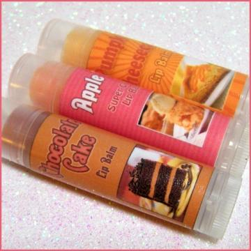 Bakery Dessert Flavors - Lip Balm Set of 3 - Shipp