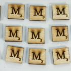 "Scrabble alphabets upper cap ""M"""