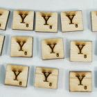 "Scrabble alphabets upper cap ""Y"""