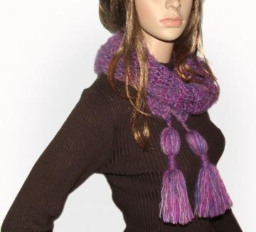 Crochet Pattern: Chunky Chain Scarf - Crochet Spot   Blog