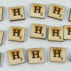 "Scrabble alphabets upper cap ""H"""