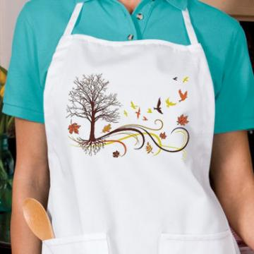 Autumn Winds New Unisex APRON Free Ship USA Cooks,Thanksgiving, Fall Holiday