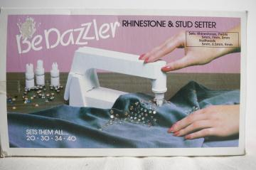 Craft Supplies Bedazzler Rhinestone & Stud Setter Kit