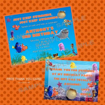 getting ready for baby finding nemo printable baby shower invitations