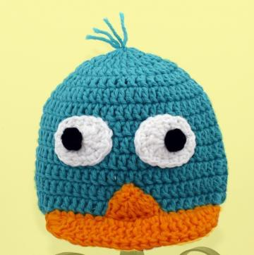 Perry the Platypus Hat / Cap from Phineas and Ferb
