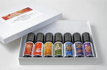 GODDESS CHAKRA ESSENCES - FULL SET OF 7 CHAKRA BLENDS