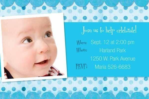 40th Birthday Ideas 1 Year Birthday Invitation Templates – One Year Old Birthday Invitation