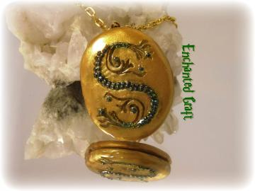 OPENING Salazar Slytherin's LOCKET Horocrux recreated from the book