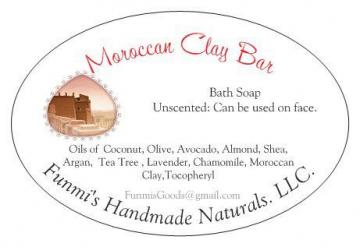 Moroccan Clay Bar
