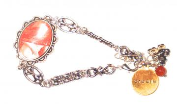 Orange Seeds Goddess chakra bracelet 2nd Chakra -  Jewelry