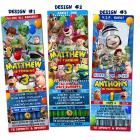 "<div align=""center""><h1><strong>""Toy Story 1 2 3 Birthday Party Photo Ticket Invitations - Printable"" by <a href=""http://www.zibbet.com/BlitzDesignz"">BlitzDesignz</a></strong><br />$11.99<span> USD </span> </h1><a href=""http://www.zibbet.com/BlitzDesignz/artwork?artworkId=1168308""> Click to view more details </a></div>"
