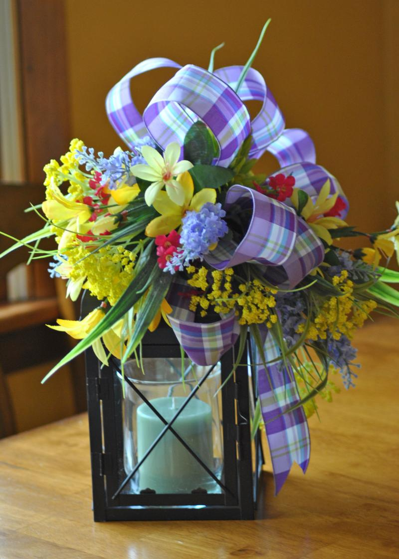 Floral Arrangements with Lanterns http://www.zibbet.com/trendywreathboutique/artwork?artworkId=1168530