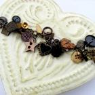 Mixed Material Button Bracelet FREE US Shipping
