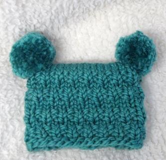 Knit Pattern Super Bulky Hat : #