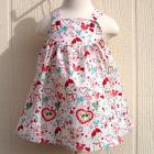 Lovebirds Baby Dress Size 6 Months