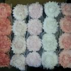 Shabby Chic mix  flowers trim -3x3