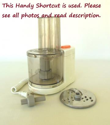 Black Decker Handy Shortcut Mini Food Processor HMP30 - Used