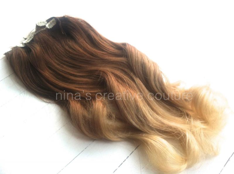 Ombre Clip In Hair Extensions Sallys Quality Hair Accessories