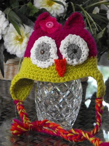Ravelry: Little Ravens: Peruvian Style Earflap Hat pattern by
