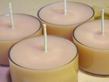 Choose your scent. 12 Hand made Soy Tea Lights