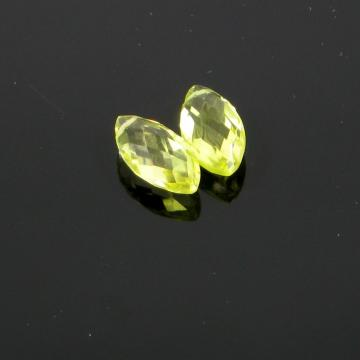 13x8mm Lemon Topaz Marquis Pair