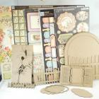 Chipboard garden gate album kit