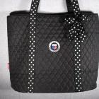 GFWC Quilted Logo Tote Bag